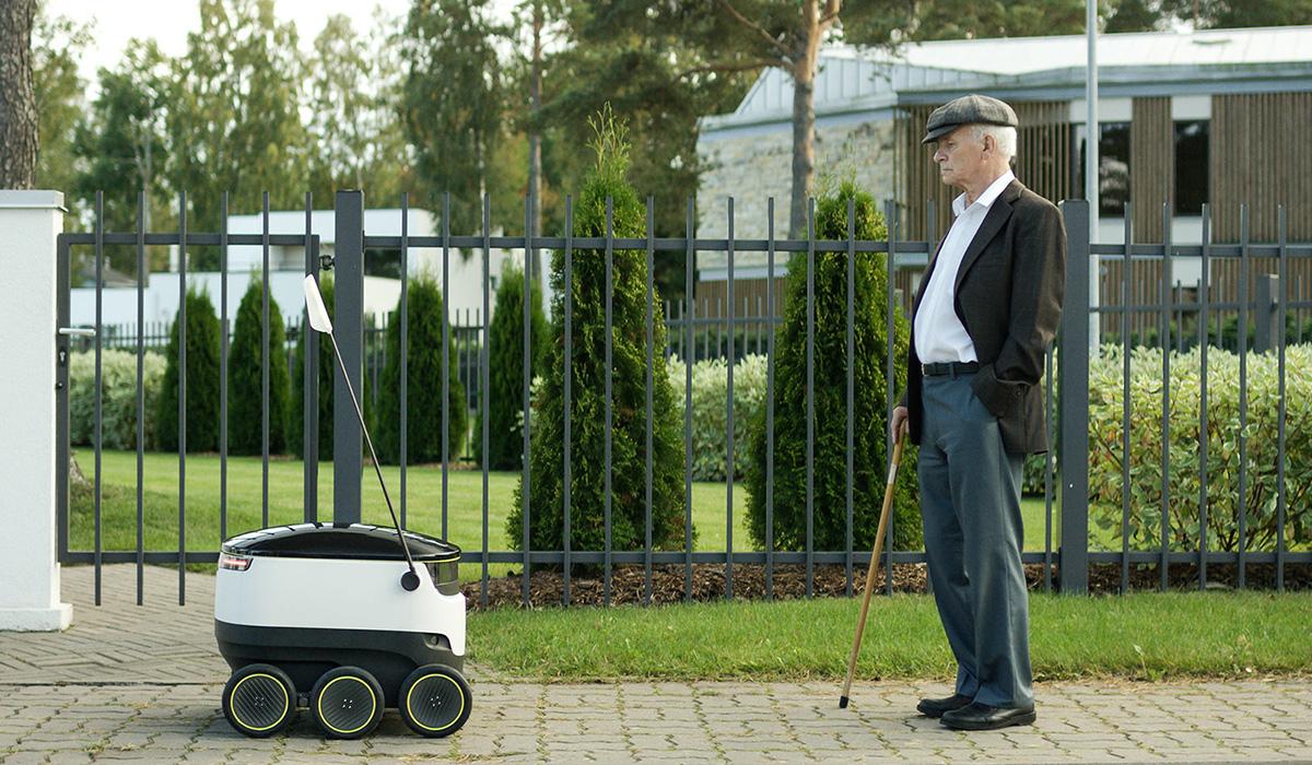 Skype-grundaren vill leverera med självkörande robotar