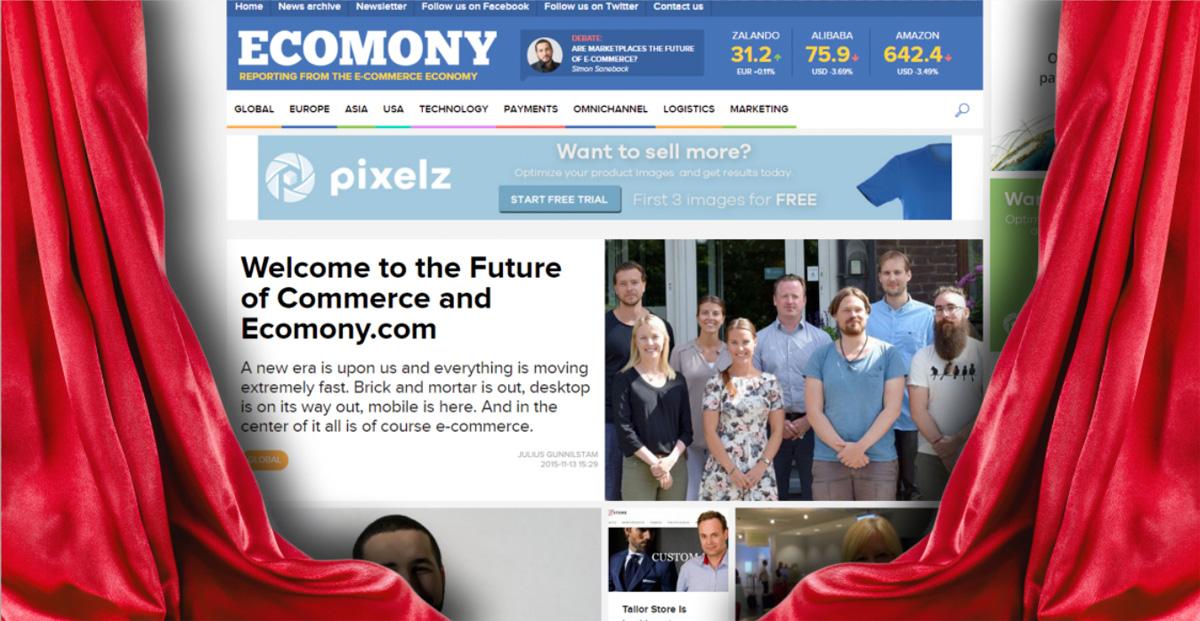 Vi lanserar nyhetssajten Ecomony.com för hela världen