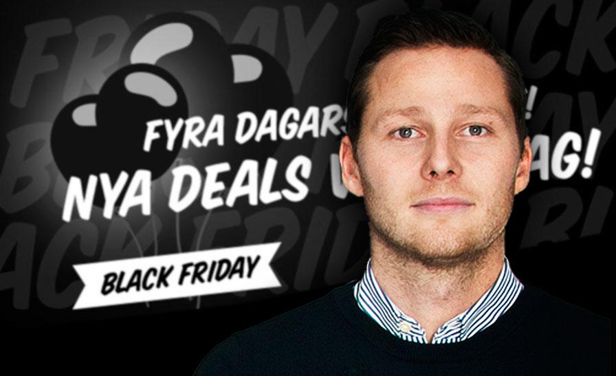 Fyndiq hakar på trenden och förlänger Black Friday