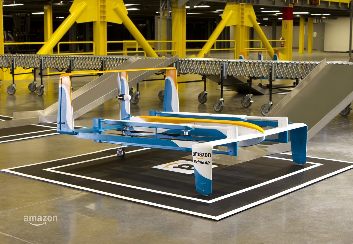 Se Amazons nya drönare i ny video för Prime Air