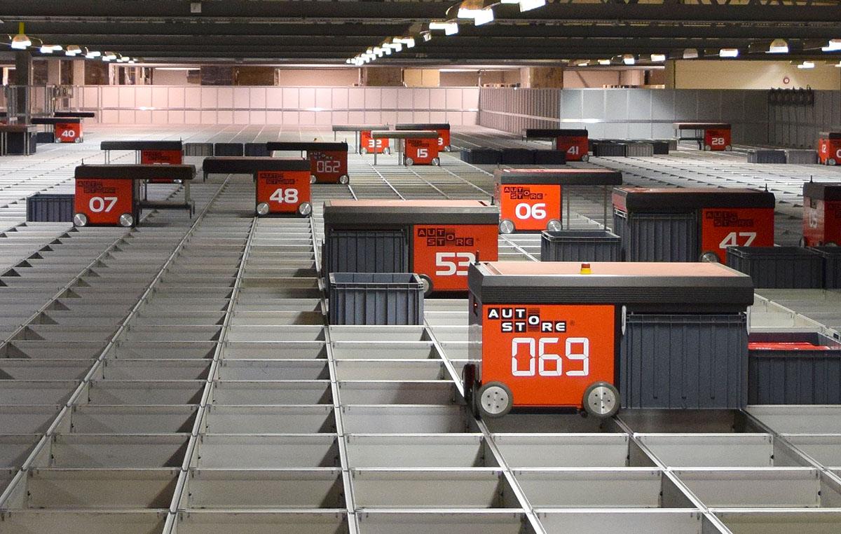 Ehandel.se har besökt Kompletts automatiska robotlager