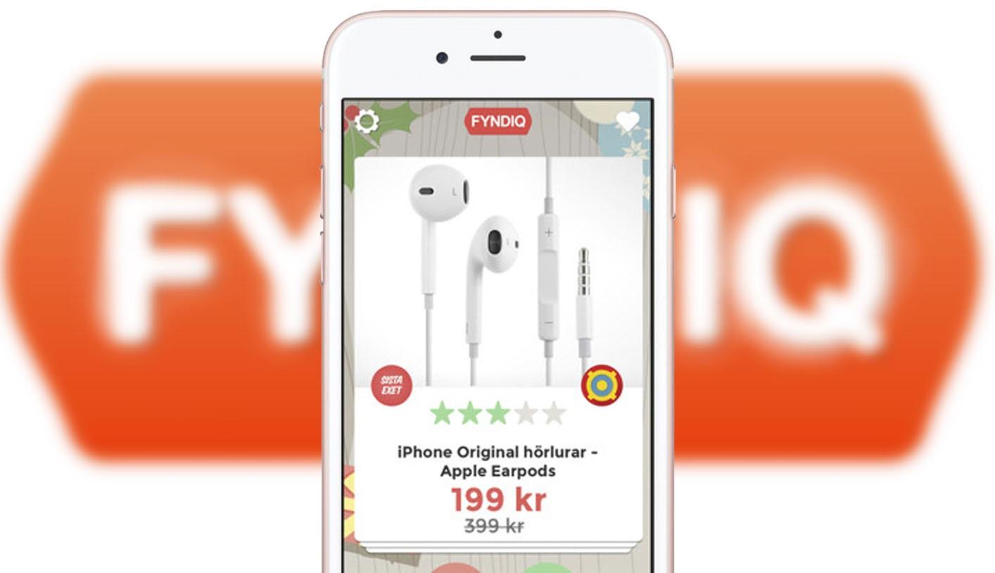 Fyndiq lanserar sin första mobilapp - Fyndswipen