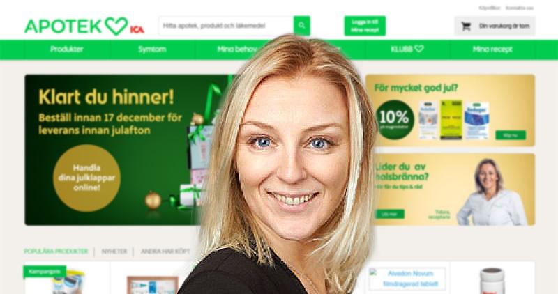 Christina Ericsson ska lyfta Apotek Hjärtats e-handel