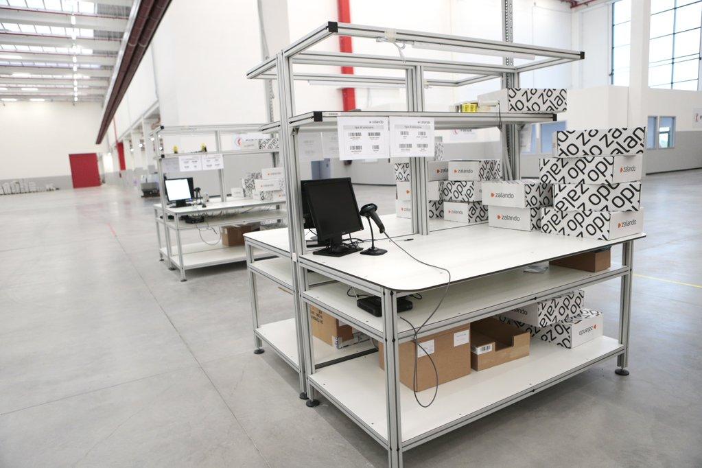 Zalando öppnar sitt första lager utanför Tyskland