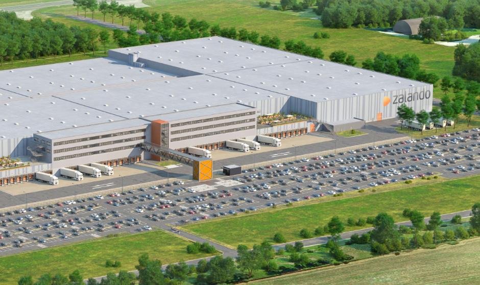 Zalando bygger 130 000 kvm lager på nerlagd flygplats