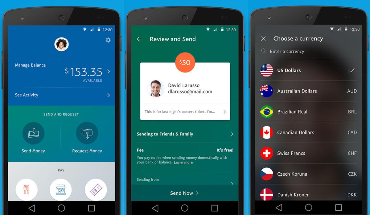 PayPals nya app sätter vännerna i främsta rummet