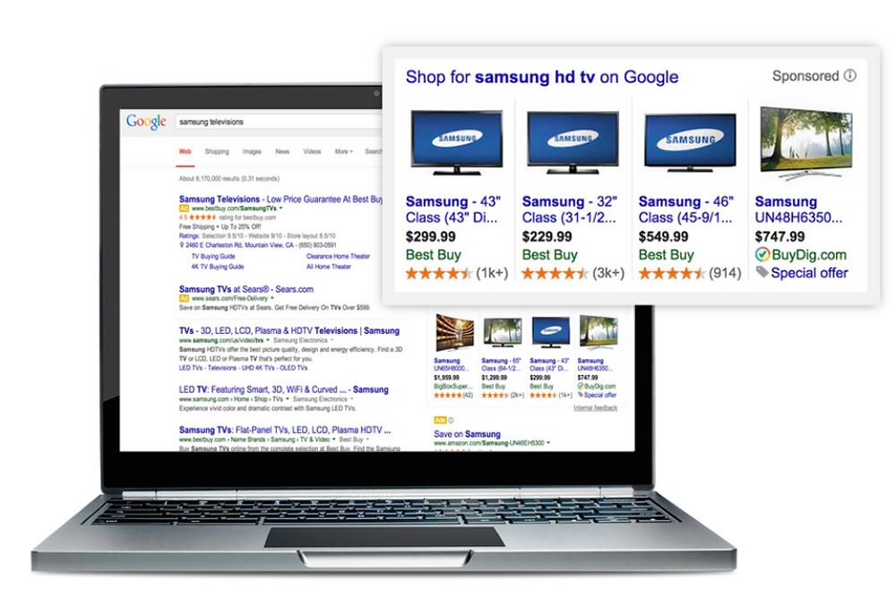 Google slutar visa annonser till höger om sökresultaten