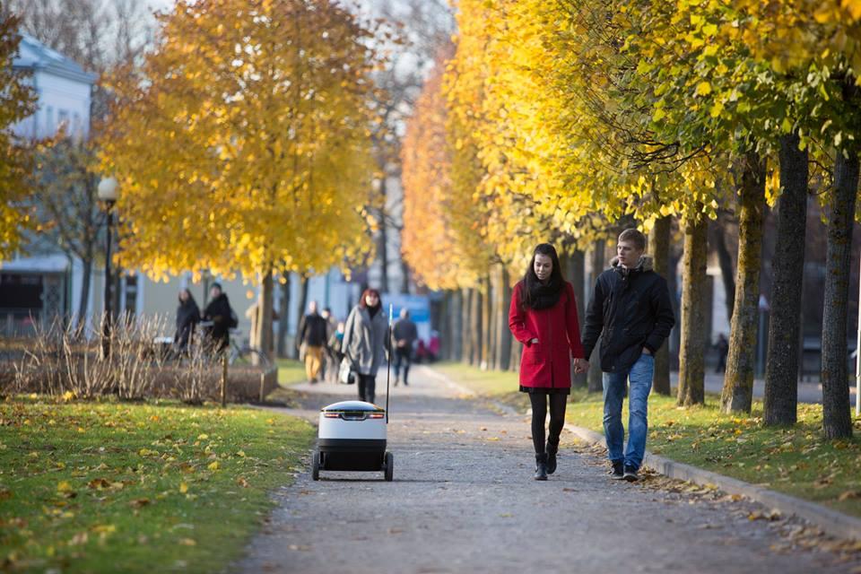 Snart rullar det självgående robotar på Londons gator