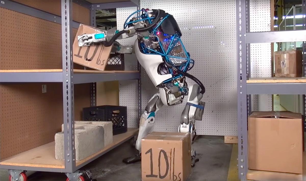 Googles robotar kan bemanna framtidens lager