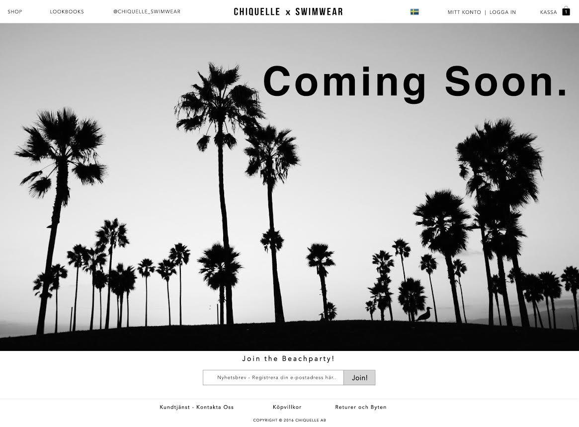 Chiquelle lanserar ny sajt med exklusivt badmode