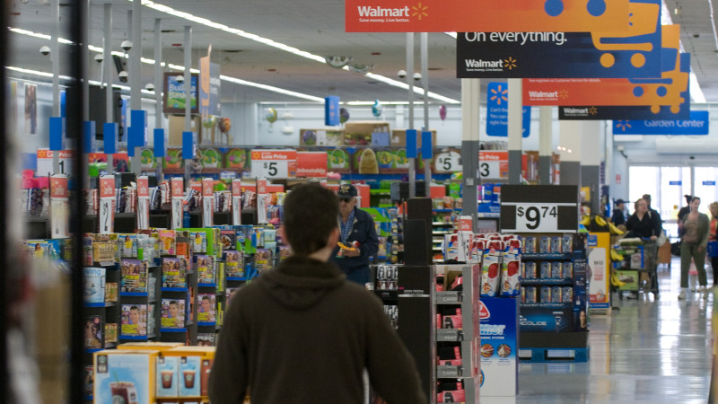 """Walmart tar sikte mot e-handeln i Kina med ny """"global shop"""""""