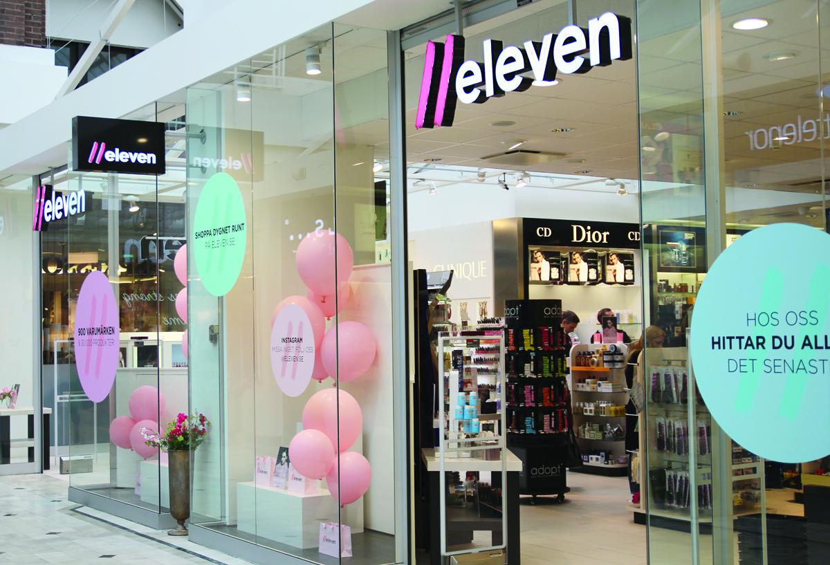 Eleven öppnar fysisk butik i Uppsala