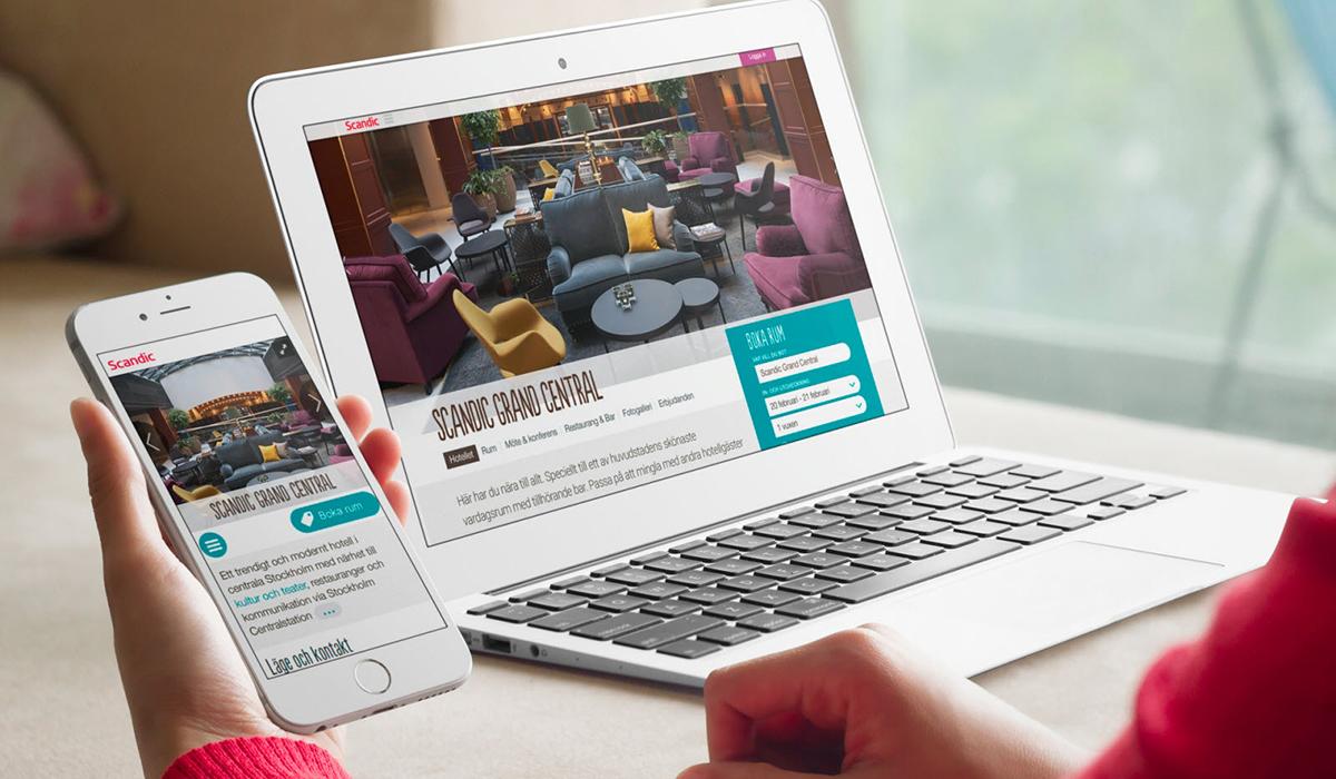Scandic ska få fler bokningar med ny fräsch e-handel