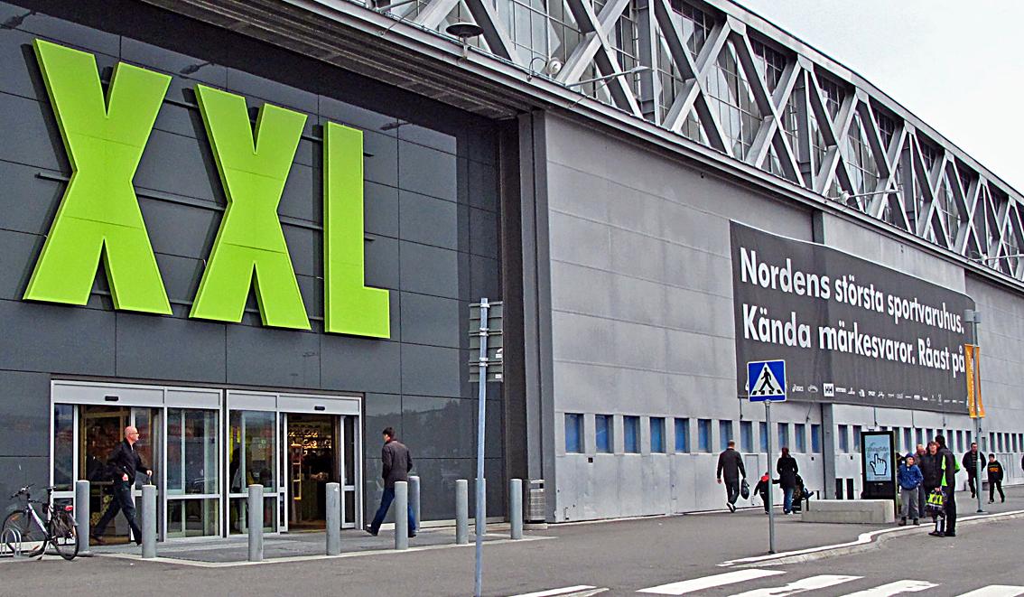 XXL:s e-handel står nu för 10 procent av omsättningen