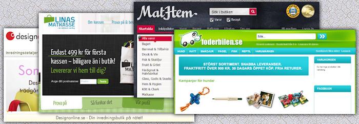 Riskkapitalister gillar E-handelsföretag - speciellt matkassar på nätet