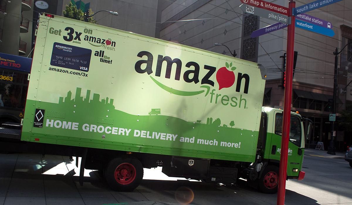 Nu har Amazon Fresh lanserats i Storbritannien