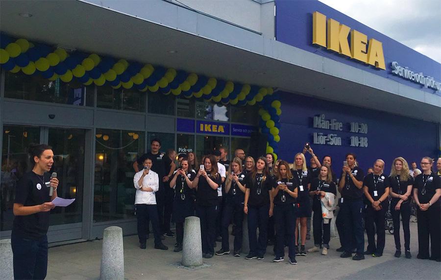 Dörren öppnad till IKEA:s första e-handelsbutik