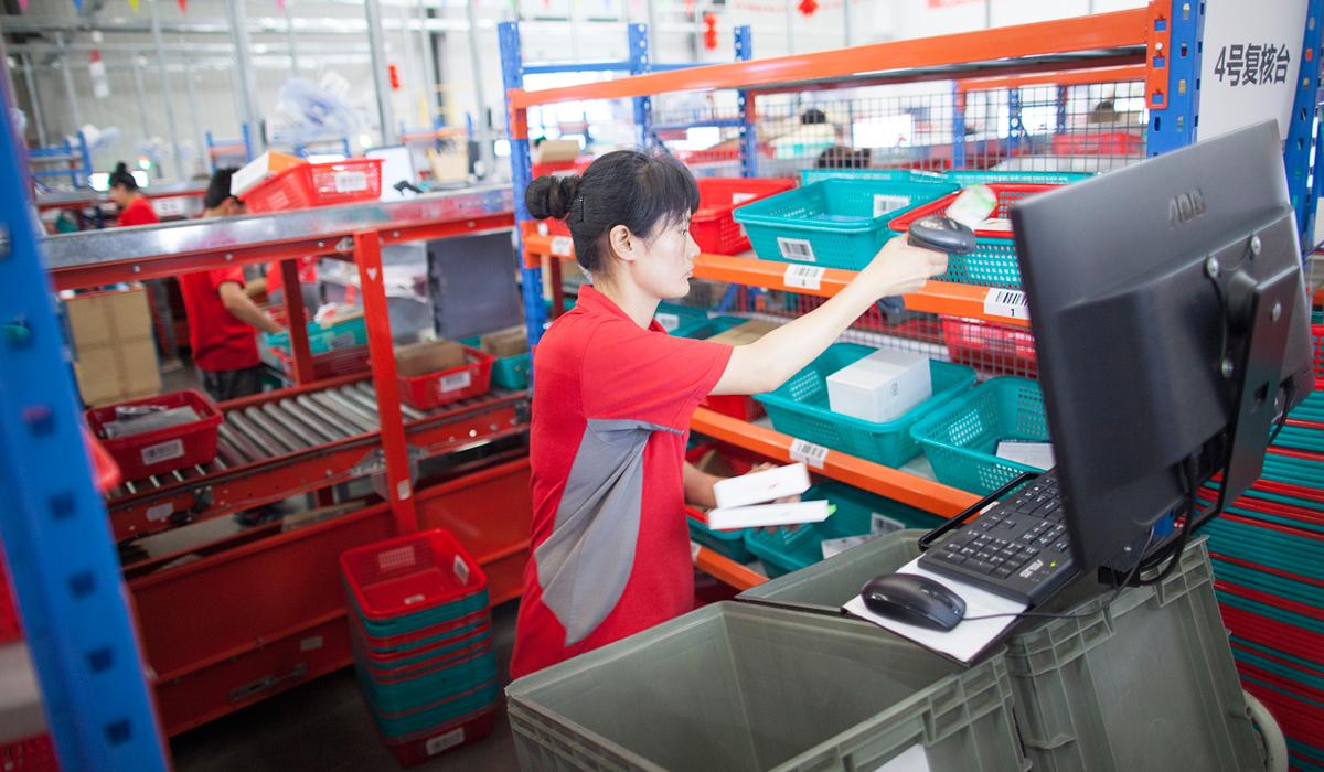 Amazon i topp bland de kinesiska e-handlarna