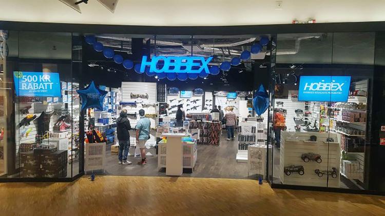 Hobbex e-handel ökade med 140 procent