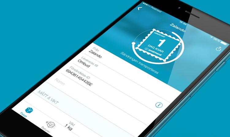 Enklare e-handel målet med PostNords nya app