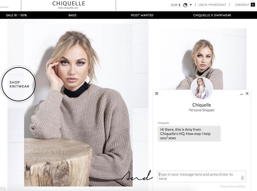 120 kontakter i 7 länder när Chiquelle lanserade chatt