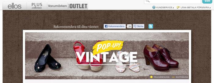 ce6faf135b6 Ellos börjar sälja begagnade skor på nätet - Ehandel.se