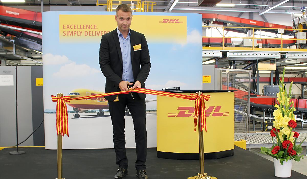 DHL:s nya logistikterminal ska ge snabbare leveranser