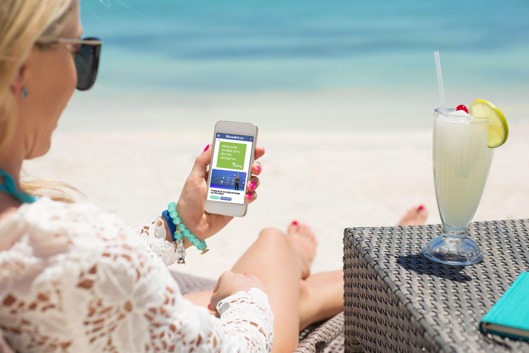 Över 50 procent av försäljningen var mobil i juli
