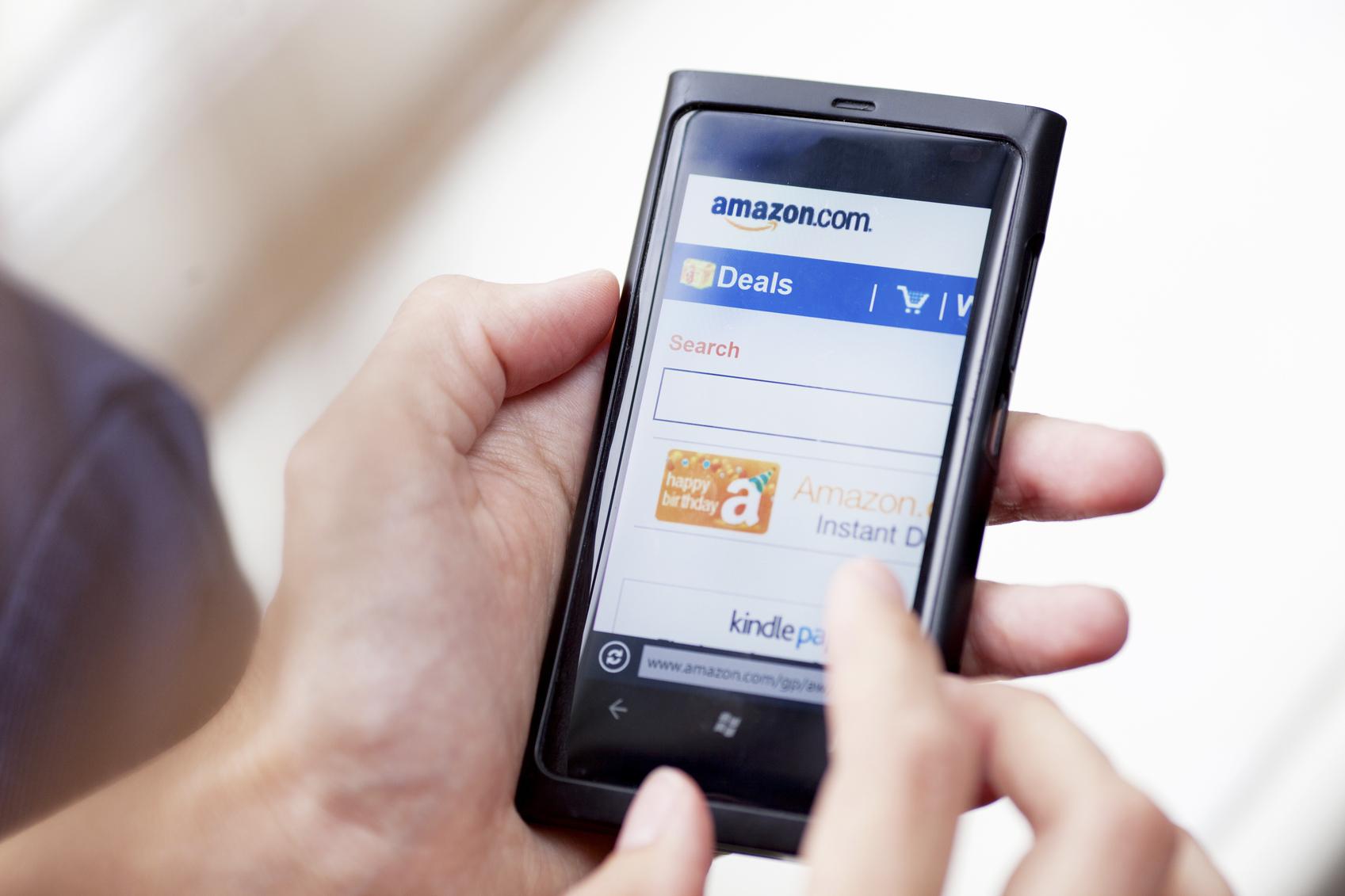 55 procent börjar på Amazon när de ska e-handla