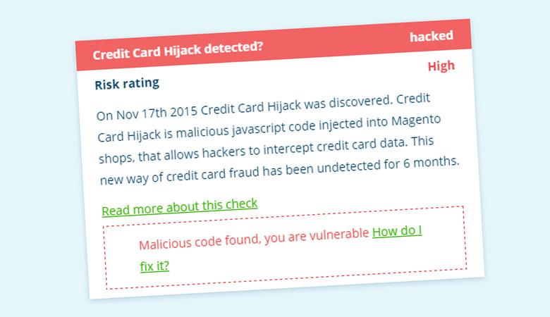 Tusentals nätbutiker snor just nu kundernas kreditkort