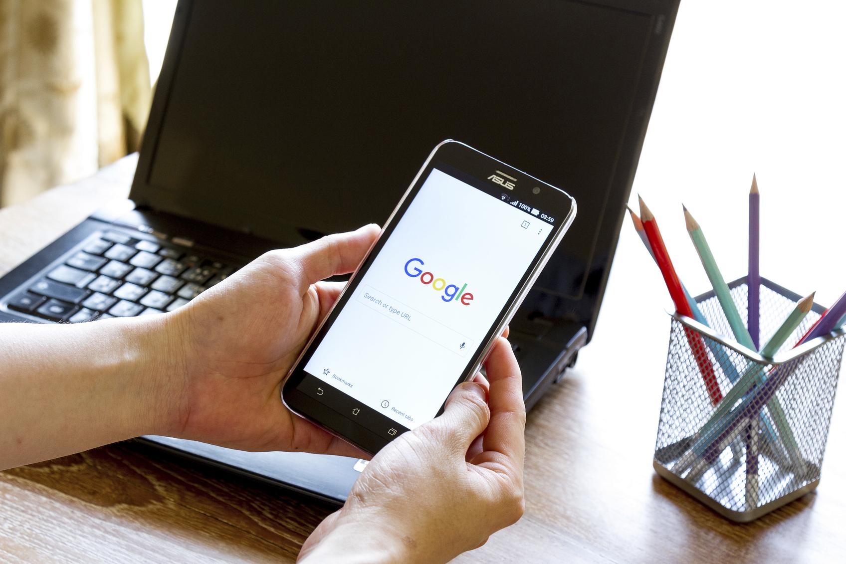 Din mobilsida är snart den du rankar på hos Google