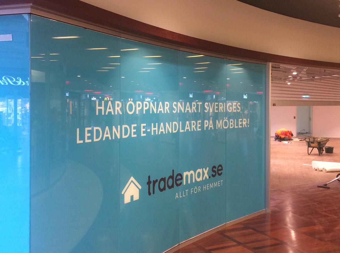Trademax öppnar showroom