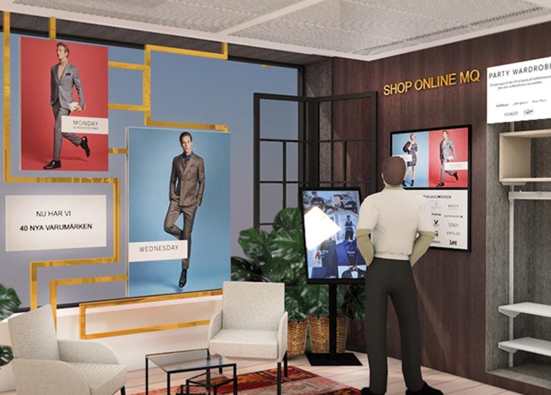 MQ lanserar flaggskeppsbutik med speciell omnihörna