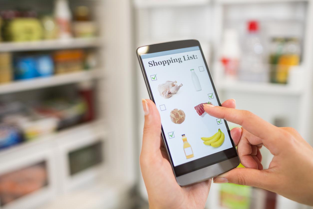Över 4 procent av all mat köps online