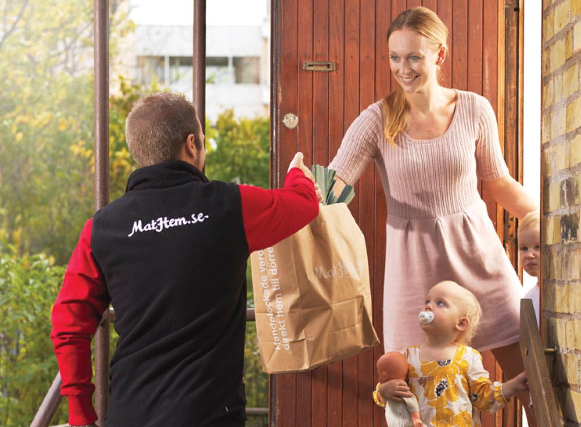 Nätmathandeln synas - frakten kan lura kunderna
