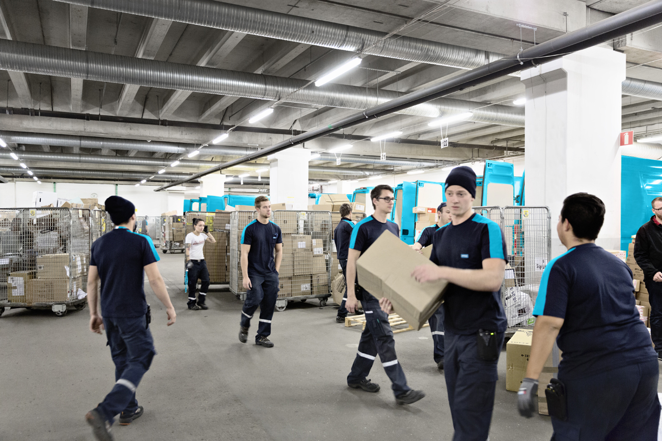En halv miljon paket hos PostNord på ett dygn