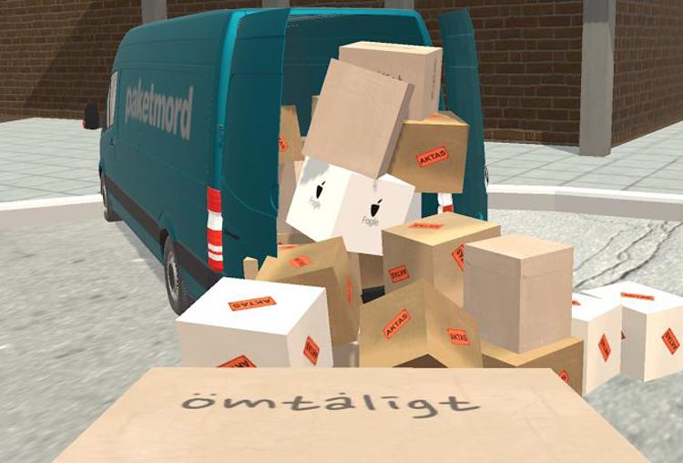 Lasta paketen rätt - och bli en vinnare i Paketmord