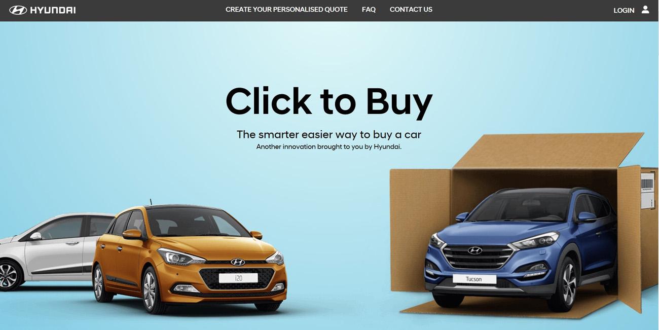 Hyundai börjar sälja bilar på nätet - inklusive hemleverans