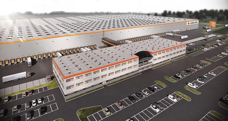 Zalando öppnar lager i Sverige