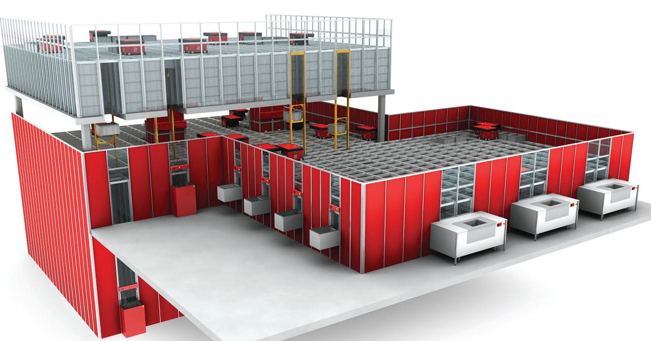KitchenTime investerar 30 miljoner i robotlager