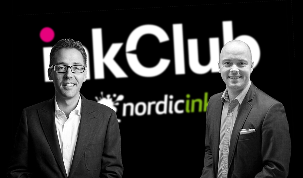 """InkClub köper Nordicink: """"Ett fantastiskt bolag"""""""
