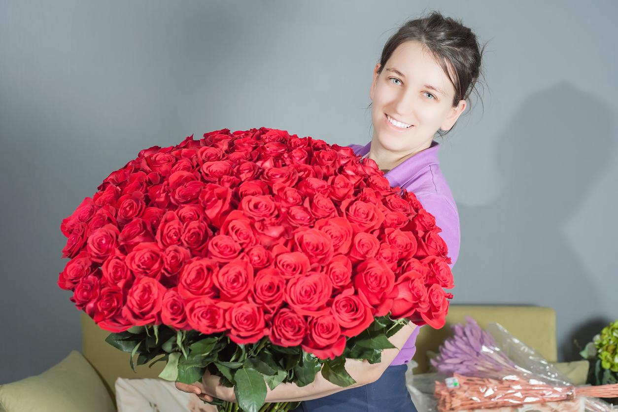 Blomrekord på nätet - kunderna beställde var tredje sekund