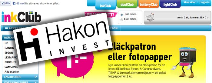 Hakon Invest blir ensam ägare av inkClub