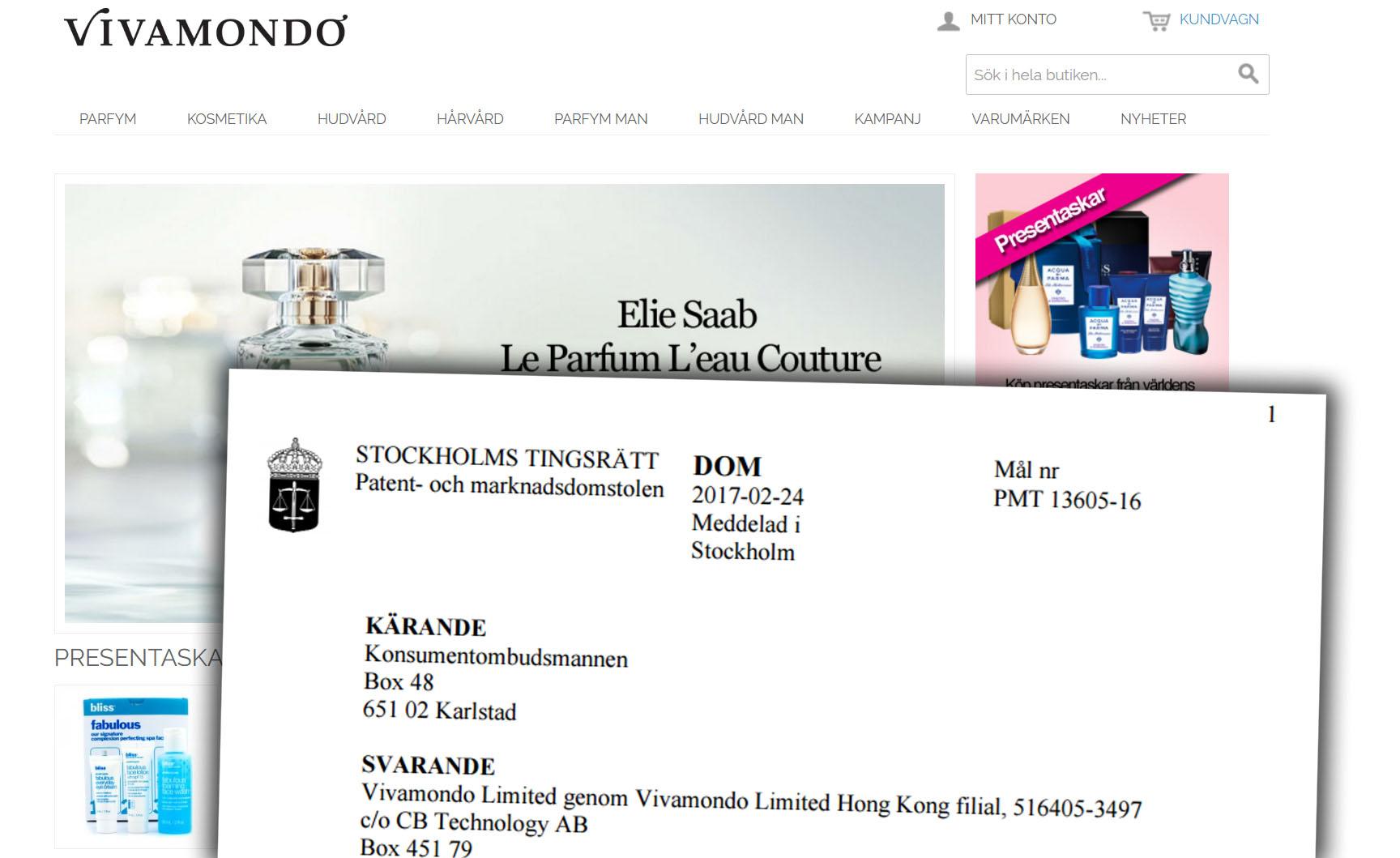Utländsk e-handlare fälls av marknadsdomstolen