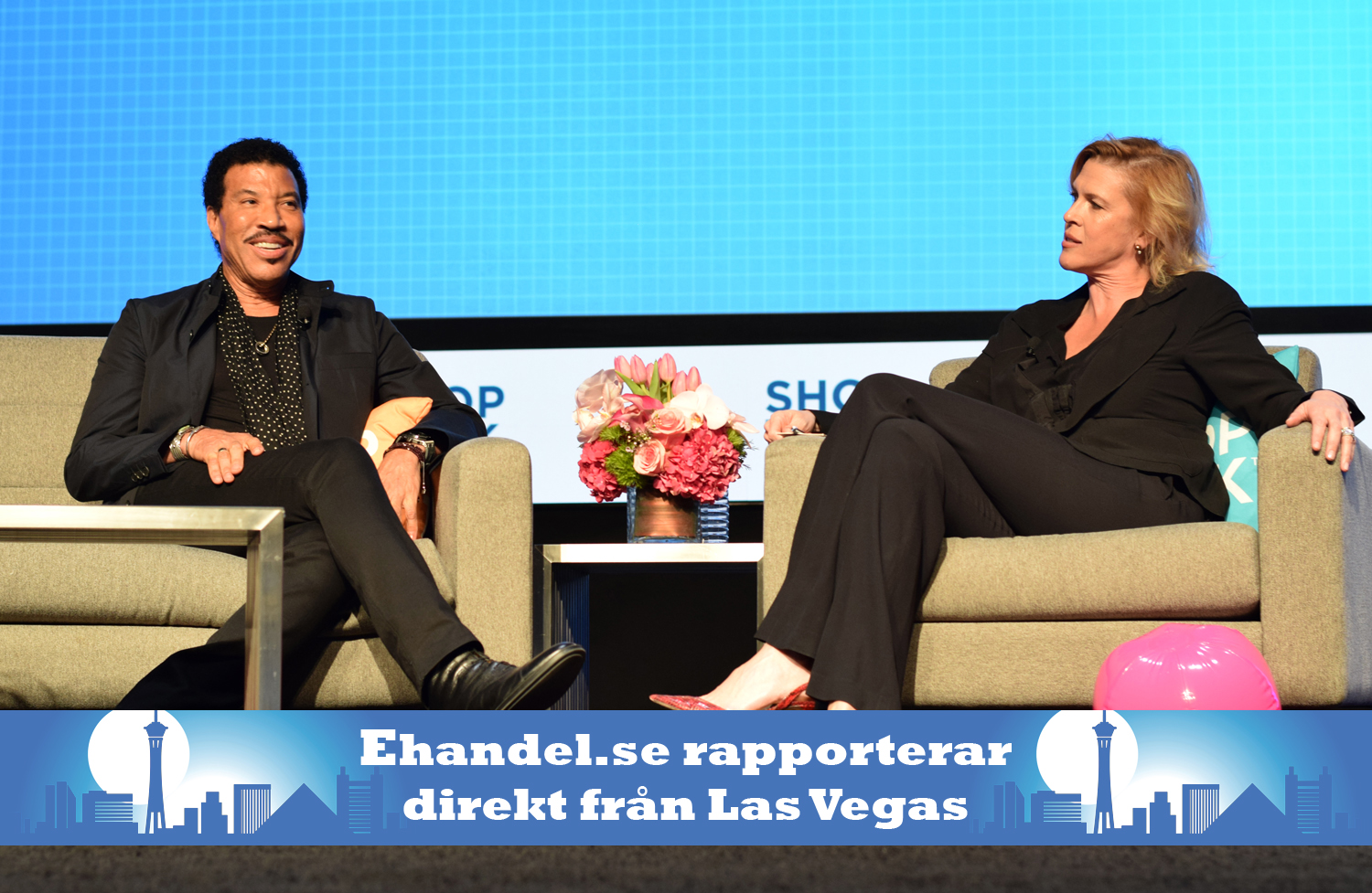 Ehandel.se i USA: Shoptalk 2017 invigt av Lionel Richie