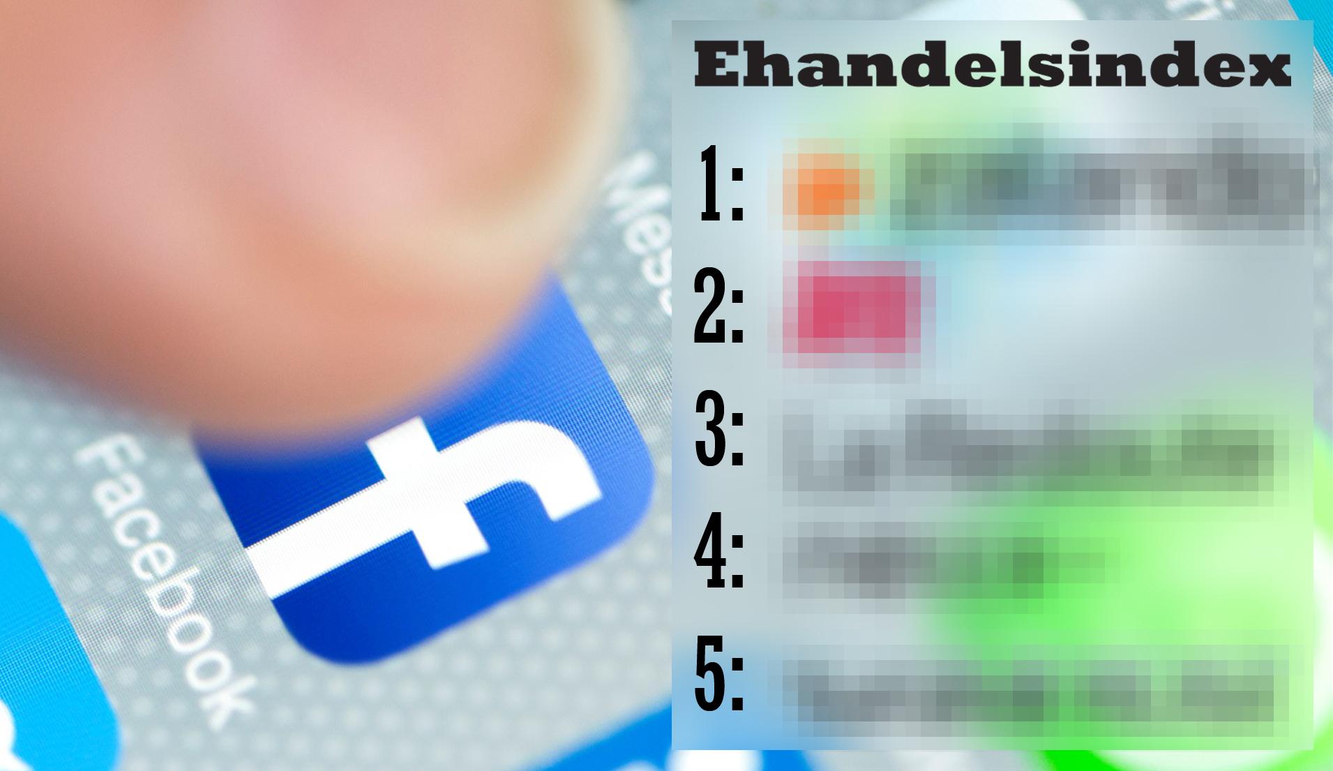 Topp 50 största butikerna på Facebook