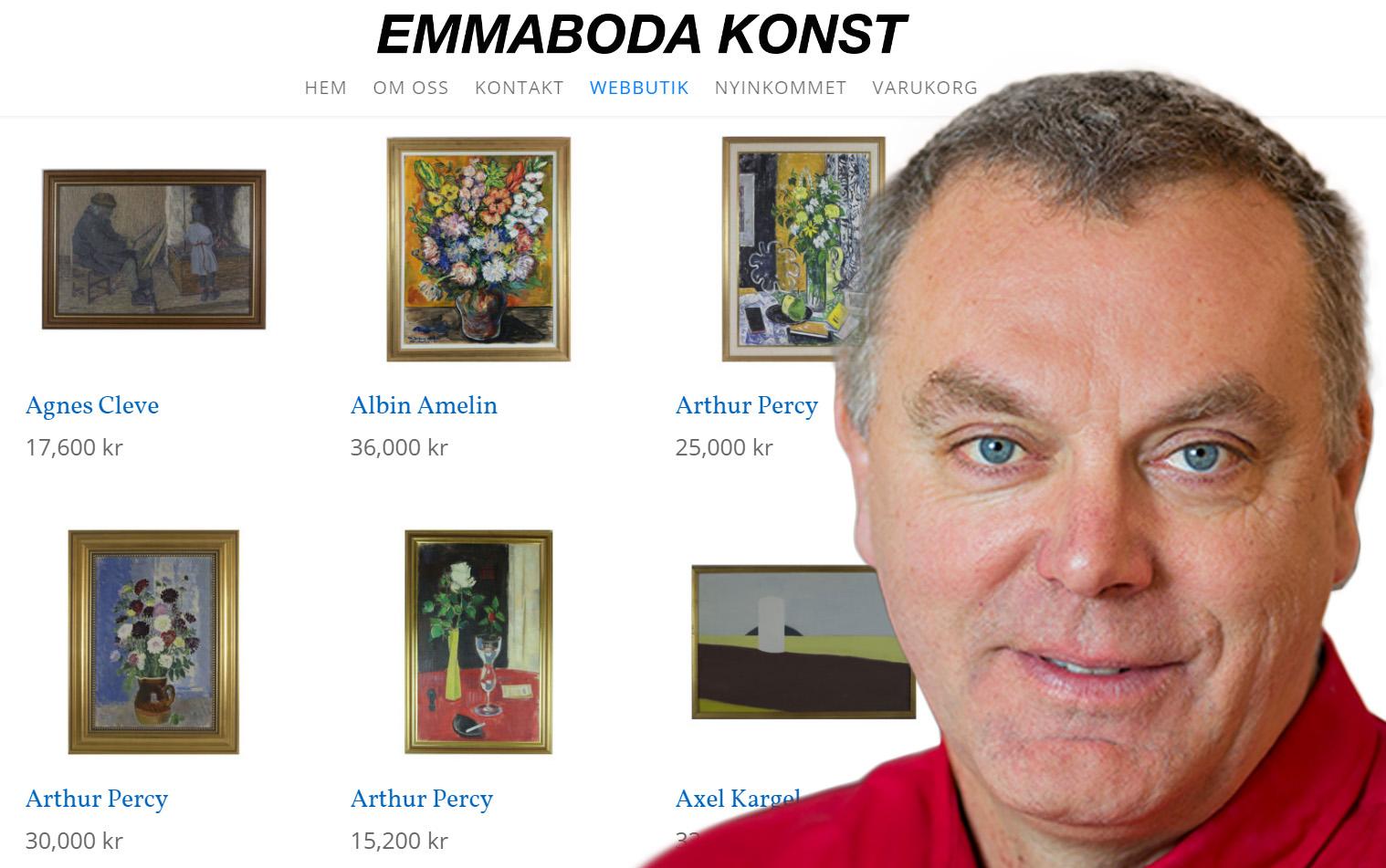 Sveriges största konstbutik öppnar e-handel