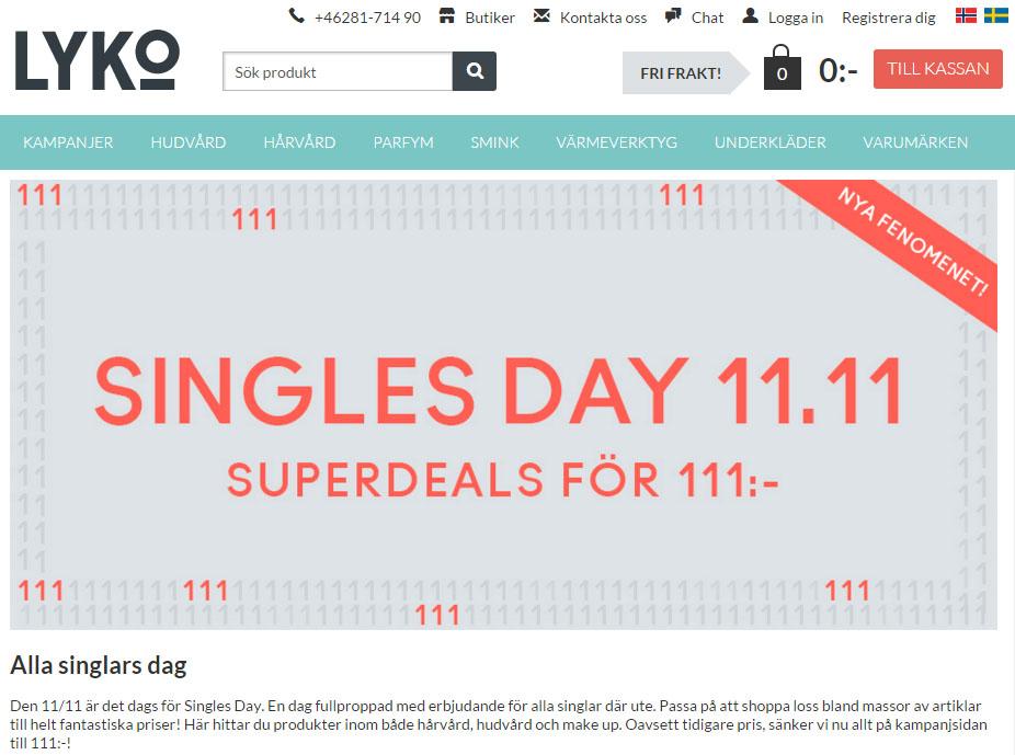 Singles Day 2020 Alla butikers erbjudanden p PriceRunner