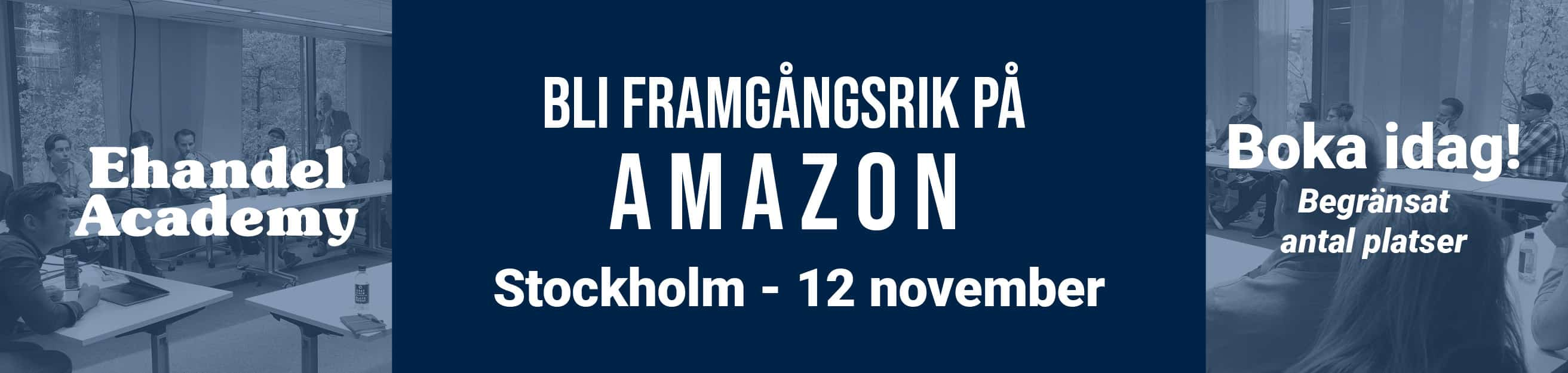 Ehandel Academy - Amazon kurs