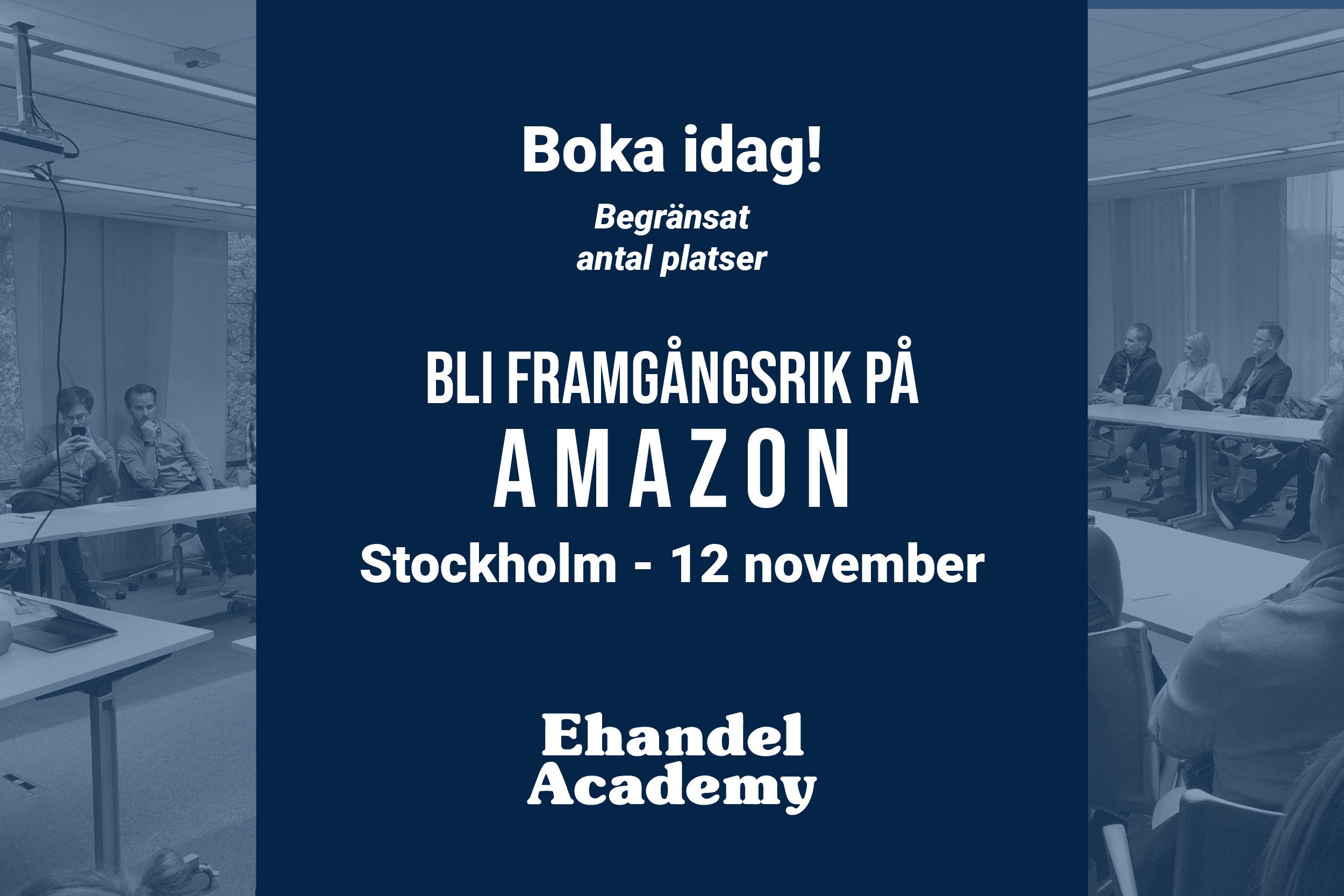 Ehandel Academy - Amazon kurs - mobil